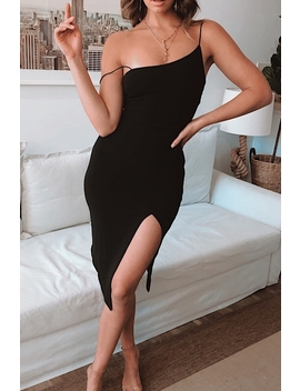 For Now Dress   Black by Stelly