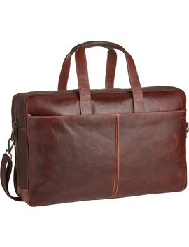 Jos. A. Bank Leather Overnight Bag by Jos. A. Bank
