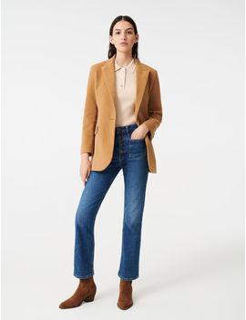Velvet Style Jacket by Maje