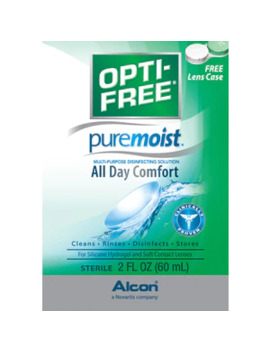 Opti Free Pure Moist Multi Purpose Disinfecting Solution by Cvs