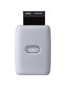 Fujifilm Instax Mini Link Smartphone Printer (Ash White) by Fujifilm