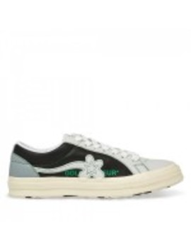 Golf Le Fleur* X Converse One Star Ox (Barely Blue/Black/Egret) by Dover Street Market