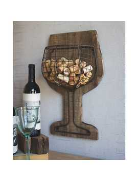 Wood And Wire Wall Wine Cork Holder by Kirkland's