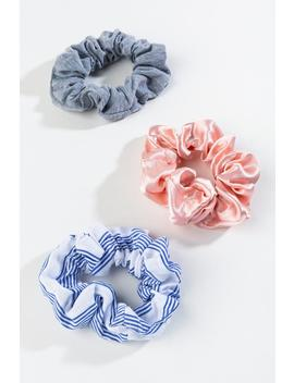 Megan Mixed Scrunchies by Francesca's