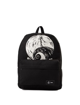 Vans X The Nightmare Before Christmas Old Skool Jack Skellington Backpack   Black by Vans