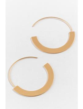 Olivia Satin Pull Through Hoops by Francesca's