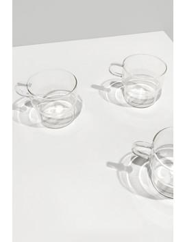 Clear Glass Mug 3135 by Oak + Fort