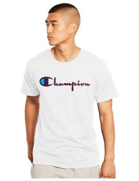 Champion Men's Tee, Vintage Logo by Champion