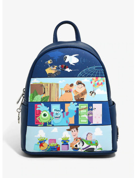 loungefly-disney-pixar-panel-scenes-mini-backpack---boxlunch-exclusive by boxlunch