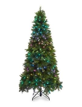 7ft-glenmore-tree-with-twinkly-smart-led-light-customizable-app-and-quick-set-technology by glucksteinhome