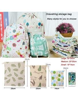 durable-and-environmental-protection-cartoon-printing-cotton-and-linen-drawstring-drawstring-bag-linen-bag-debris-underwear-storage-bag-travel-storage-bag-gift-bag by wish