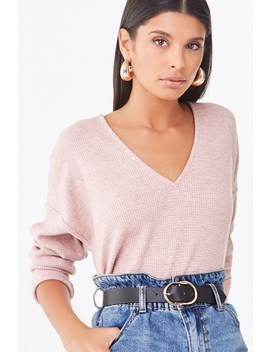 v-neck-high-low-top by forever-21