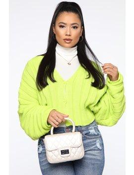 all-the-hype-boxy-bag---ivory by fashion-nova