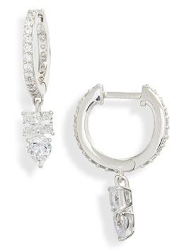 eliza-huggie-hoop-earrings by nadri