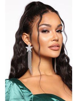 falling-star-earrings---silver by fashion-nova