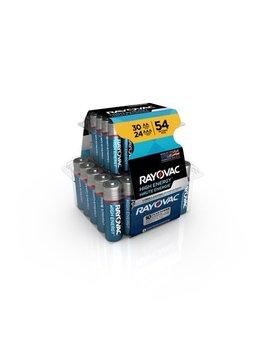 rayovac-high-energy-alkaline,-30-aa-&-24-aaa-batteries,-54-count by rayovac
