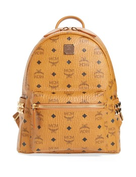 small-stark-side-stud-backpack by mcm