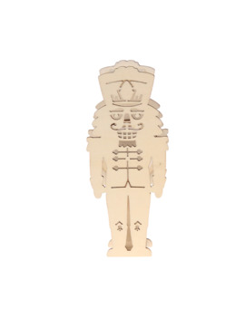 nutcracker-wooden-accent-with-led-by-artminds by artminds
