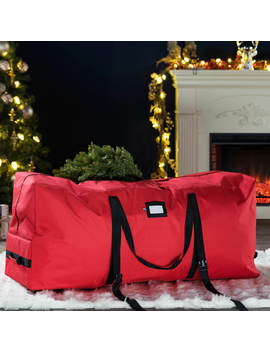 premium-holiday-rolling-christmas-tree-storage-bag---fits-up-to-7-ft-tall-artificial-disassembled-trees---tear-proof-600d-oxford-duffel-bag,-durable-handles-&-wheels-for-easy-carrying-and-transport by premium-holiday