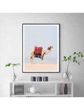 desert-animal-camel-canvas-art-print-painting-modern-boho-nursery-wall-art-pictures-moroccan-dubai-home-decor-posters-no-framed by aliexpresscom