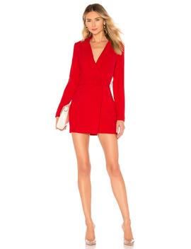joan-belted-blazer-dress by superdown