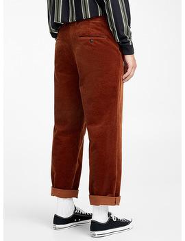 corduroy-wide-leg-pant-straight-fit by djab -mens-streetwear