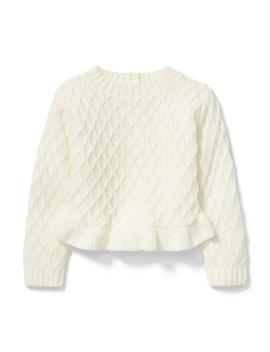 Ruffle Hem Sweater by Janie And Jack