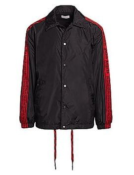 side-tape-coach-jacket by palm-angels