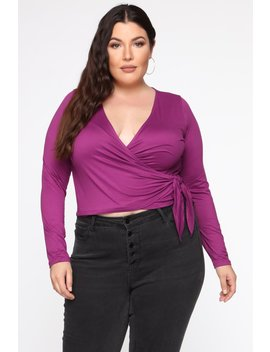 not-your-side-chick-top---purple by fashion-nova