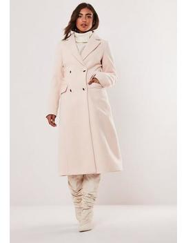 nude-maxi-formal-coat by missguided
