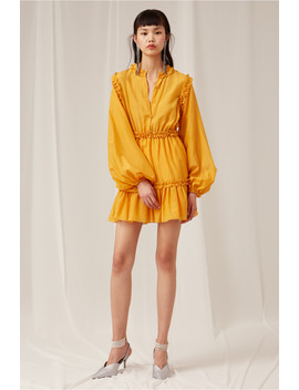 Into You Long Sleeve Mini Dress by Bnkr