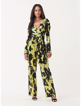 kayleigh-tissue-jersey-wrap-top by dvf