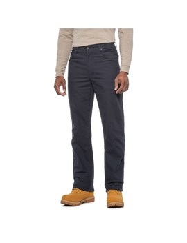 Smith's Workwear Stretch Canvas Relaxed Fit Work Pants   Fleece Lined, 5 Pocket (For Men) by Smith's Workwear