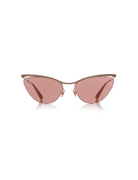 mizuho-cat-eye-rose-gold-tone-sunglasses by mykita