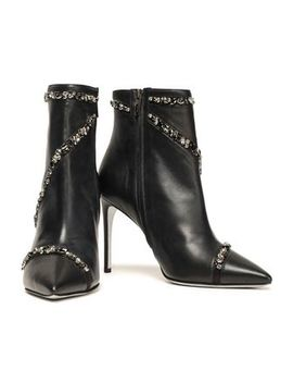crystal-embellished-leather-ankle-boots by rene-caovilla