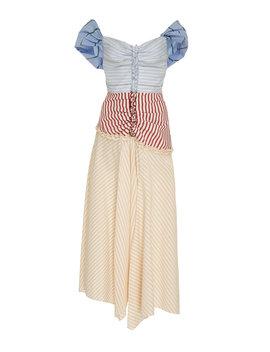 batten-down-the-hatches-paneled-cotton-blend-midi-dress by rosie-assoulin