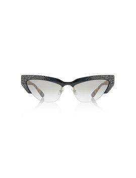 cat-eye-crystal-embellished-acetate-sunglasses by miu-miu