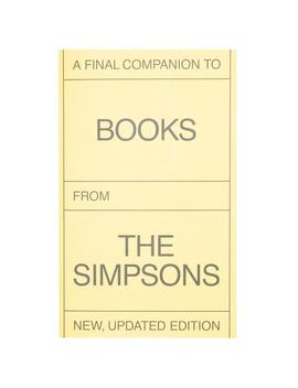 a-final-companion-to-books-from-the-simpsons by publications