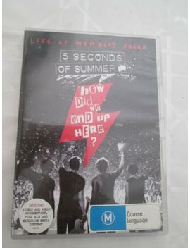 5 Seconds Of Summer How Did We End Up Here Dvd by Capitol