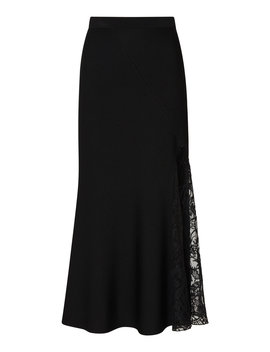 lace-paneled-asymmetric-crepe-midi-skirt by givenchy