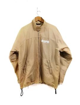 vintage-a-bathing-ape-windbreaker-jacket-small-ape-design by bape  ×