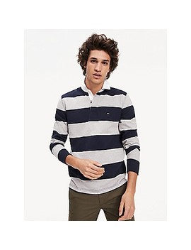 Regular Fit Iconic Stripe Rugby by Tommy Hilfiger