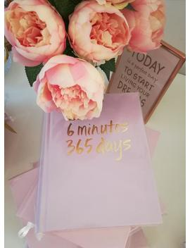 birthday-present,-gift-for-her,-hard-cover,-book-you-write-yourself,-one-page-per-day,-diary,-undated by etsy