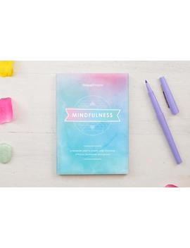 mindfulness-reminder-pad,-mindful-planner,-positive-desk-pad,-awareness,-calm,-peace,-mental-health by etsy