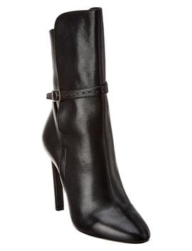 Saint Laurent Mica 105 Leather Boot by Bluefly