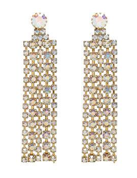 crystal-fringe-earrings by elizabeth-cole