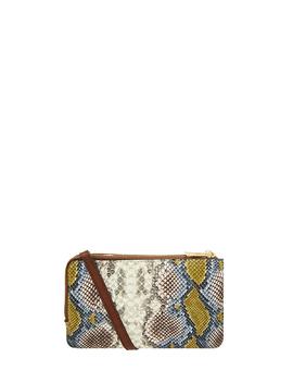 snake-double-zip-cross-body-bag by accessorize