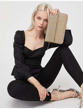 metallic-foldover-clutch-bag by accessorize