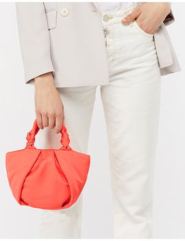 Satin Knot Bag by Accessorize