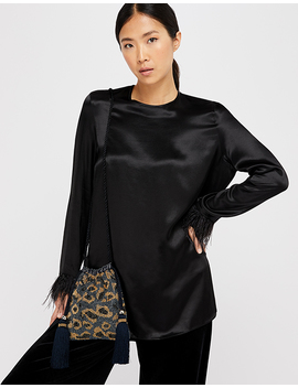 Agnes Leopard Beaded Duffle Bag by Accessorize